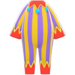 ピエロのふく紫黄