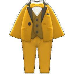 カラータキシード黄黒