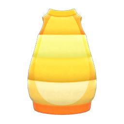 あおむしのふく黄オレンジ