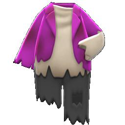 ボロボロなふく紫黒