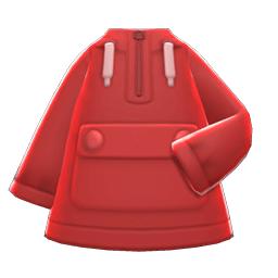 アノラック赤赤