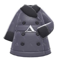 ケイトのコート黒黒