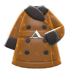 ケイトのコート黄黒