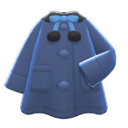 ポンチョコート青黒