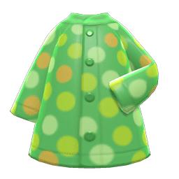 みずたまレインコート緑黄
