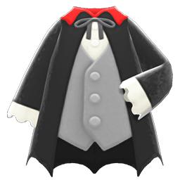 ヴァンパイアのふく黒グレー