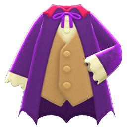 ヴァンパイアのふく紫ベージュ