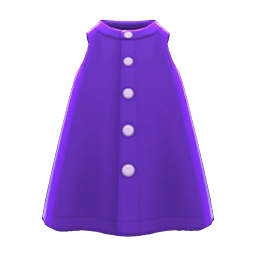 チュニックシャツ紫紫