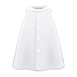 チュニックシャツ白白
