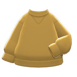 シンプルなトレーナー黄黄