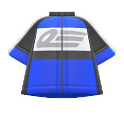 サイクルジャージ青黒