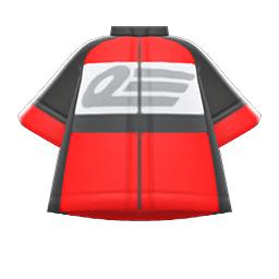 サイクルジャージ赤黒