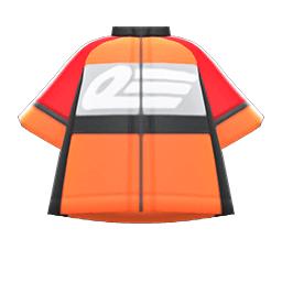 サイクルジャージオレンジグレー