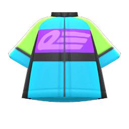 サイクルジャージ水紫