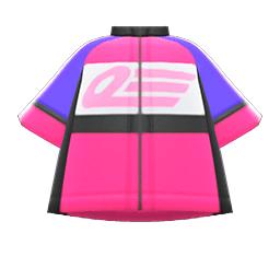 サイクルジャージピンク紫