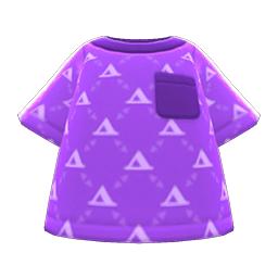 ケイトのカットソー紫紫