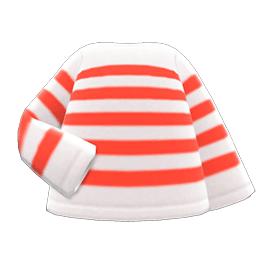 ボーダーTシャツ赤白