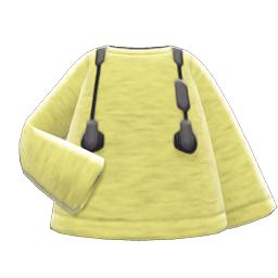 イヤフォンコーデ黄黒