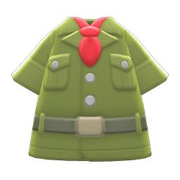 たんけんふく緑赤