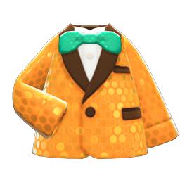 コメディアンなふくオレンジ緑