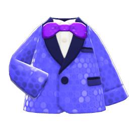 コメディアンなふく青紫