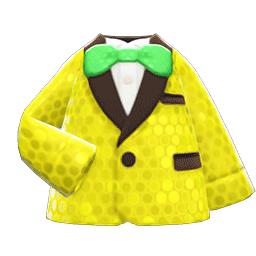 コメディアンなふく黄緑