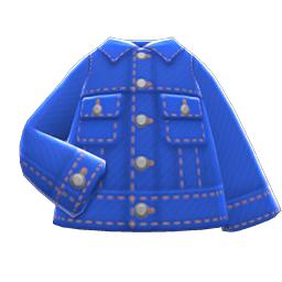 デニムジャケット青青