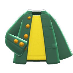 ヤンチャながくせいふく緑黄