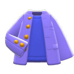 ヤンチャながくせいふく紫青