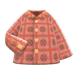 サイケデリックシャツ赤赤