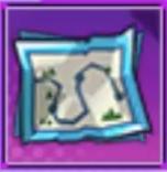 中級宝の地図のアイコン