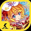 黄愛の琵琶椿 鏡音リン