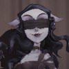 夢の魔女の顔アイコン