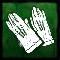 鹿革の手袋の画像