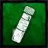 硫酸の瓶の画像