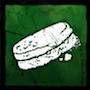 硬くなったパンの画像