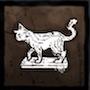 猫の置物の画像