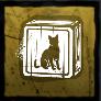 猫のブロックの画像