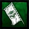 山岡家の幟の画像