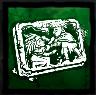 虐げる者の銘板の画像