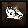 鉛の指輪の画像