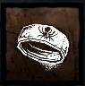 銅の指輪の画像