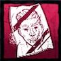 玉虫色のフォトカードの画像