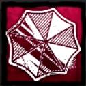 玉虫色のアンブレラ記章の画像