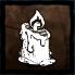 燃えるキャンドルの画像