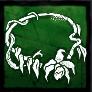 湿地蘭のネックレスの画像
