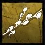 ネコヤナギの花々の画像