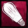 変わった電球の画像