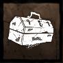 ボロボロの工具箱の画像