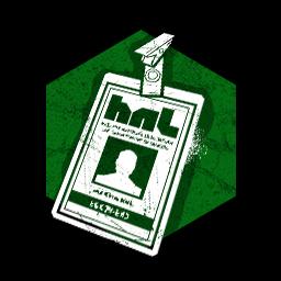 ホーキンス国立研究所のIDカードの画像